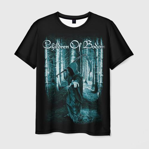 Мужская 3D футболка с принтом Children of Bodom 14, вид спереди #2