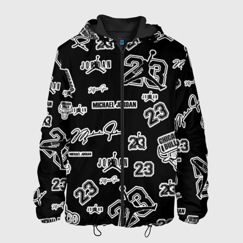 Мужская куртка 3D Michael Jordan 23