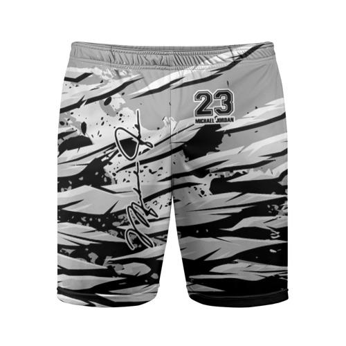 Мужские шорты 3D спортивные Michael Jordan 23