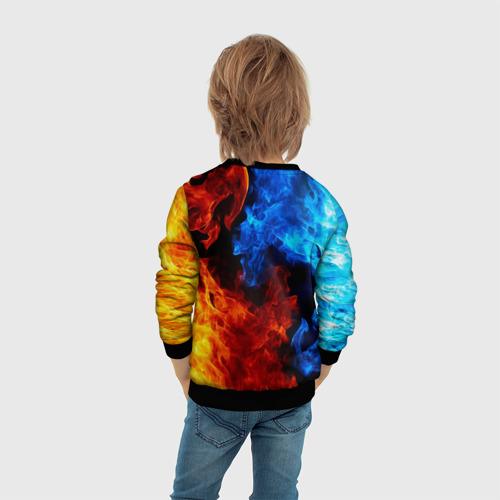 Детский 3D свитшот с принтом Brawl Stars CROW, вид сзади #2