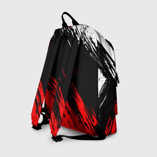 Рюкзак 3D с принтом TOYOTA, вид сзади #1