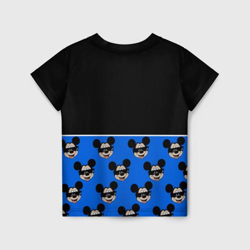 Детская 3D футболка с принтом DisneyМикки Маус, вид сзади #1