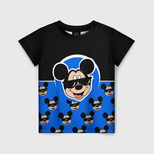 Детская 3D футболка с принтом DisneyМикки Маус, вид спереди #2