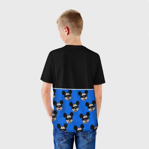 Детская 3D футболка с принтом DisneyМикки Маус, вид сзади #2