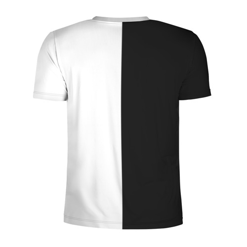 Мужская футболка 3D спортивная с принтом SUZUKI   СУЗУКИ (Z), вид сзади #1