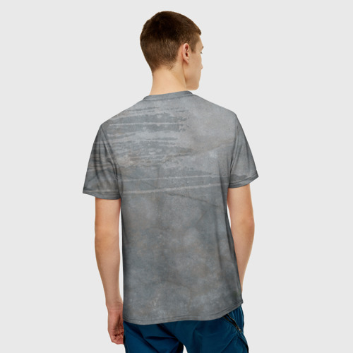Мужская 3D футболка с принтом Red Hood, вид сзади #2