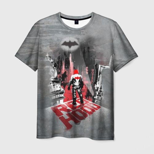 Мужская 3D футболка с принтом Red Hood, вид спереди #2