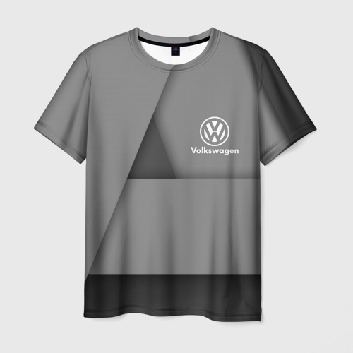 Мужская 3D футболка VOLKSWAGEN