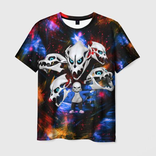 Мужская 3D футболка Санс | Undertale
