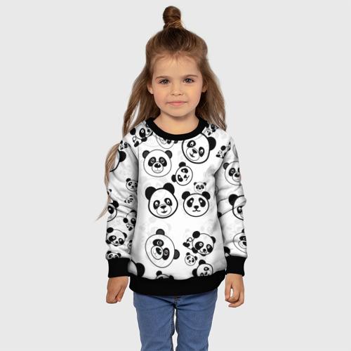 Детский 3D свитшот с принтом Панды, фото #4