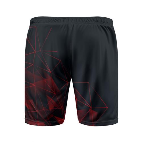 Мужские шорты 3D спортивные с принтом TOYOTA, вид сзади #1
