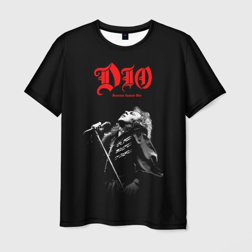 Мужская 3D футболка Dio #6