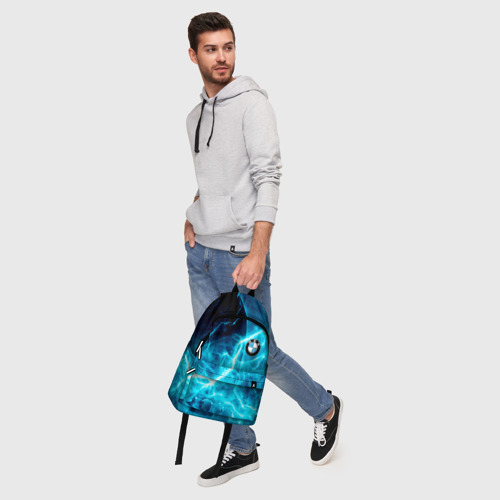 Рюкзак 3D с принтом BMW, фото #5