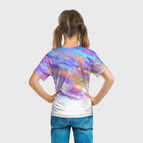 Детская 3D футболка с принтом Roblox, вид сзади #2