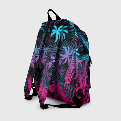 Рюкзак 3D с принтом BRAWL STARS BIBI | БИБИ, вид сзади #1