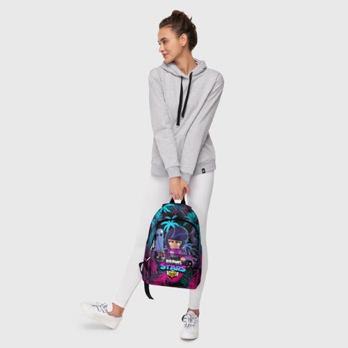 Рюкзак 3D с принтом BRAWL STARS BIBI | БИБИ, фото #6
