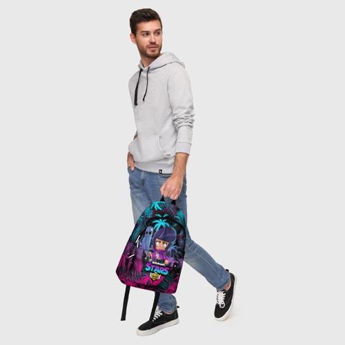 Рюкзак 3D с принтом BRAWL STARS BIBI | БИБИ, фото #5