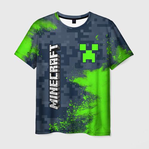 Мужская 3D футболка MINECRAFT / МАЙНКРАФТ