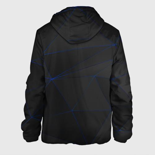 Мужская куртка 3D с принтом VOLVO, вид сзади #1