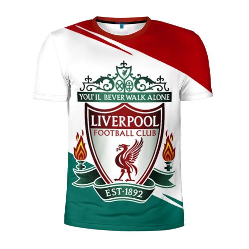 Мужская футболка 3D спортивная LIVERPOOL