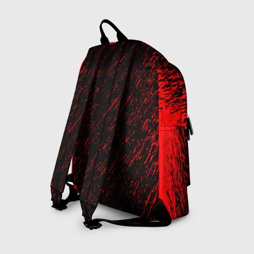 Рюкзак 3D с принтом Sabaton, вид сзади #1