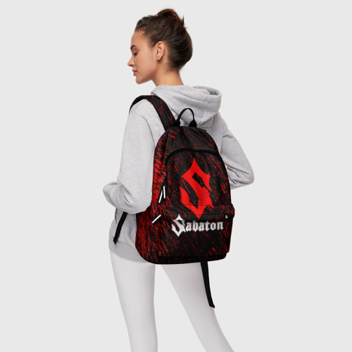 Рюкзак 3D с принтом Sabaton, фото #4