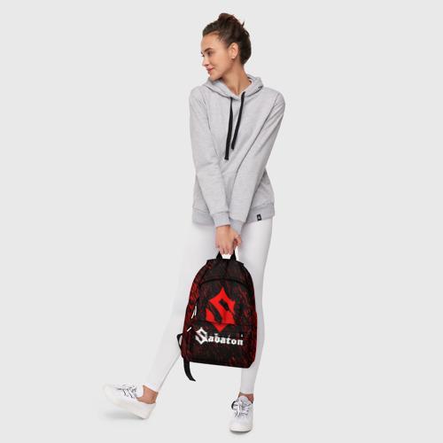 Рюкзак 3D с принтом Sabaton, фото #6
