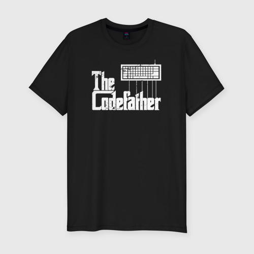 Мужская футболка премиум The Codefather Кодный отец