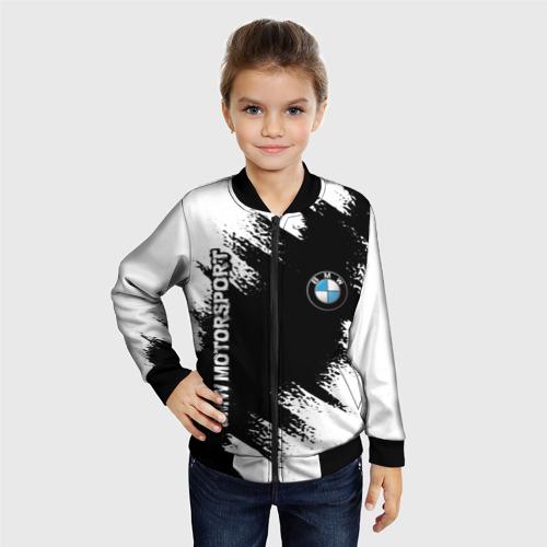 Детский бомбер 3D BMW