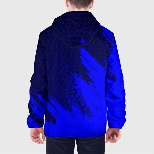 Мужская куртка 3D с принтом NISSAN, вид сзади #2