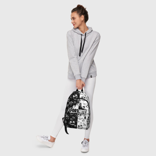 Рюкзак 3D с принтом FORTNITE | MARSHMELLO, фото #6