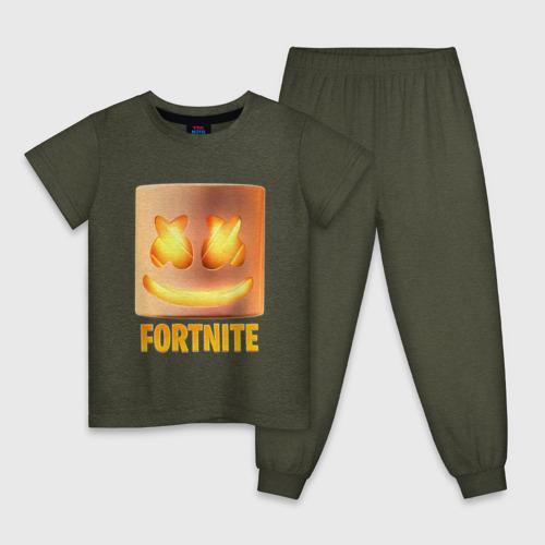 Детская пижама Fortnite Marshmello