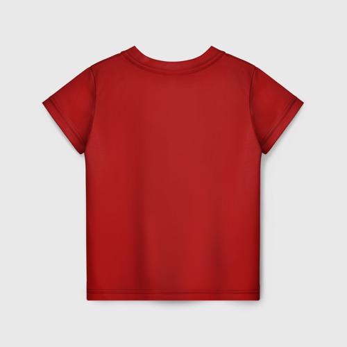 Детская 3D футболка с принтом Геранд-шоп Кв-44, вид сзади #1