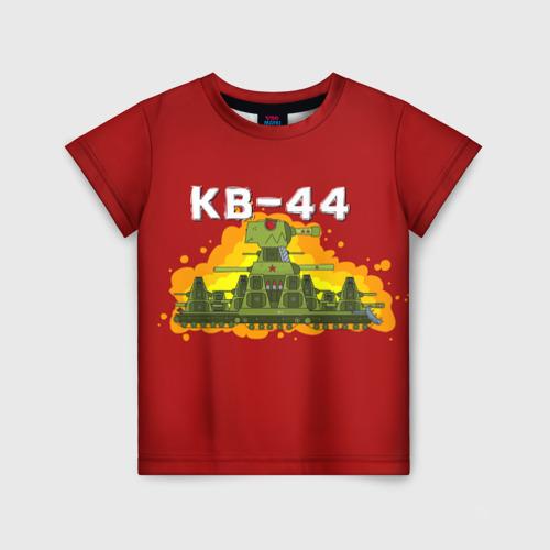 Детская 3D футболка Геранд-шоп Кв-44