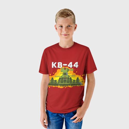 Детская 3D футболка с принтом Геранд-шоп Кв-44, фото на моделе #1