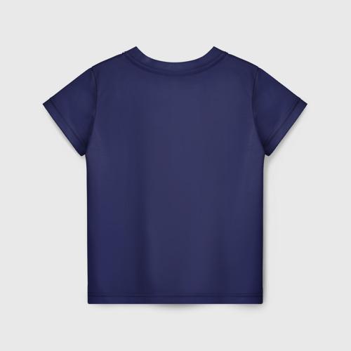 Детская 3D футболка с принтом Ice Scream:Horror Neighborhood, вид сзади #1
