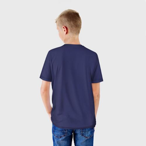 Детская 3D футболка с принтом Ice Scream:Horror Neighborhood, вид сзади #2