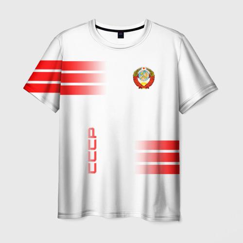 Мужская 3D футболка СССР