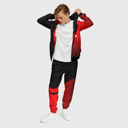 Мужской 3D костюм с принтом FC Bayern Munchen Форма, фото на моделе #1