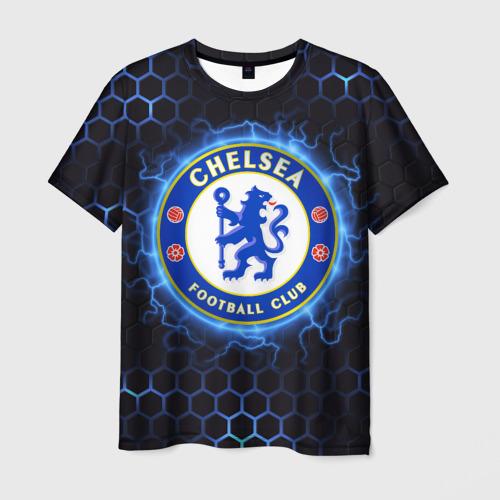 Мужская 3D футболка Челси