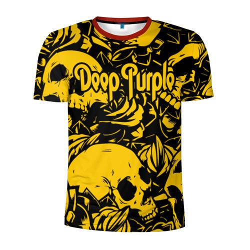 Мужская футболка 3D спортивная Deep Purple