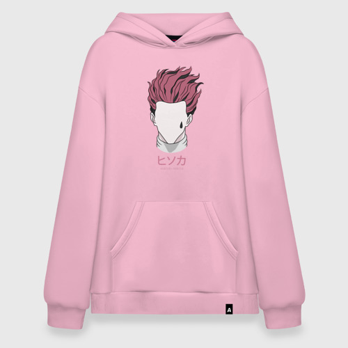 Худи SuperOversize Розовые волосы Hunter
