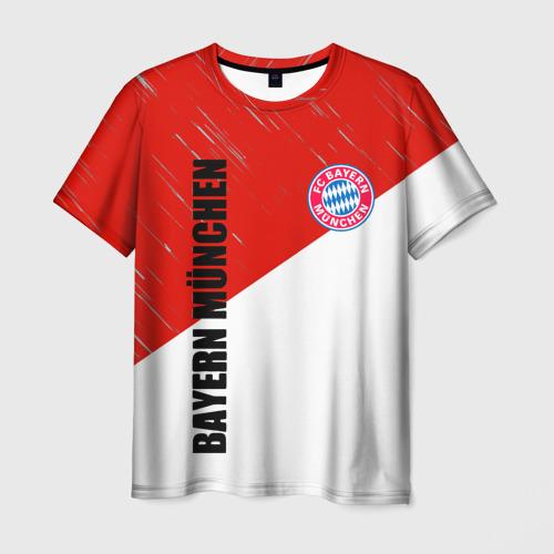 Мужская 3D футболка Бавария
