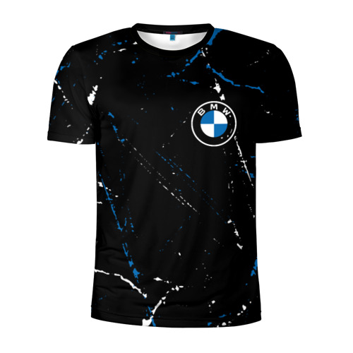 Мужская футболка 3D спортивная BMW / БМВ