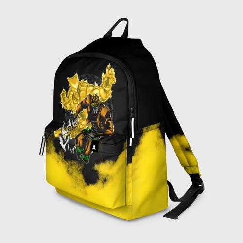 Рюкзак 3D Хамон желтый дым