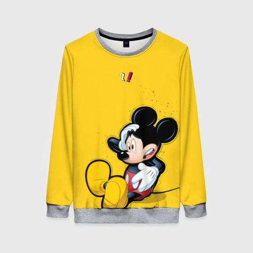 Женский 3D свитшот Mickey