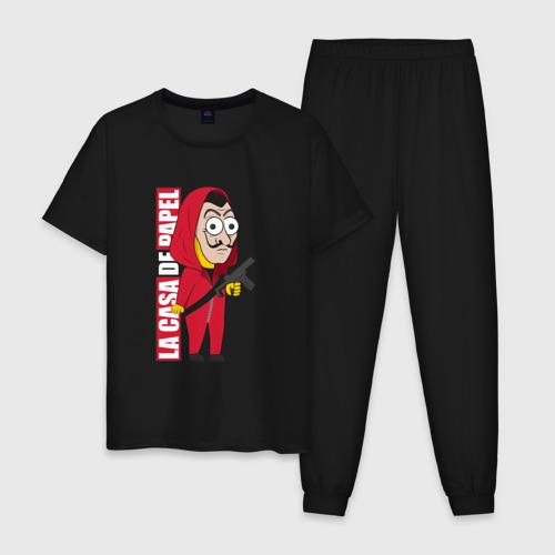 Мужская пижама хлопок Dali in style Simpson