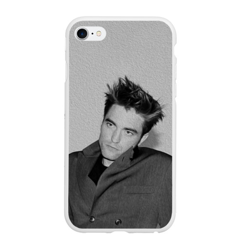 Чехол для iPhone 6/6S матовый Роберт Паттинсон