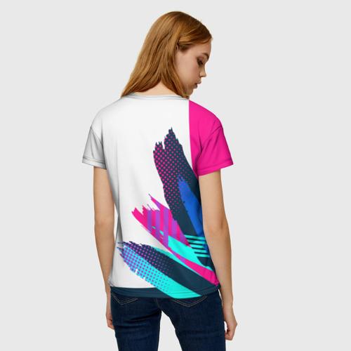 Женская 3D футболка с принтом League of Legends, вид сзади #2