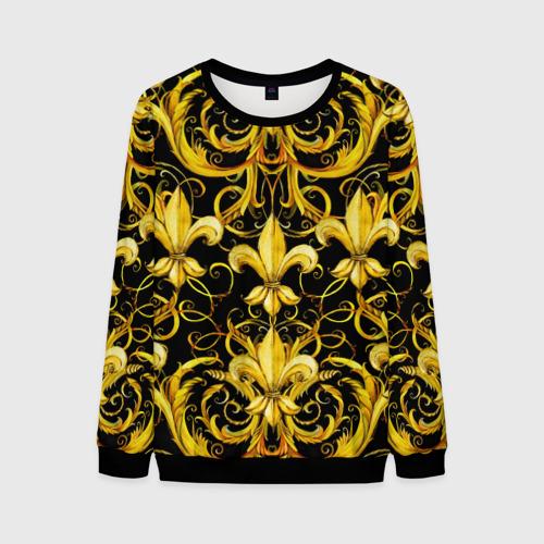 Мужской 3D свитшот Versace gold